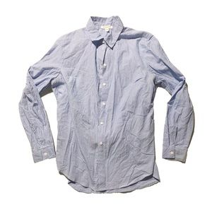 BeachLunchLounge pin striped button up shirt